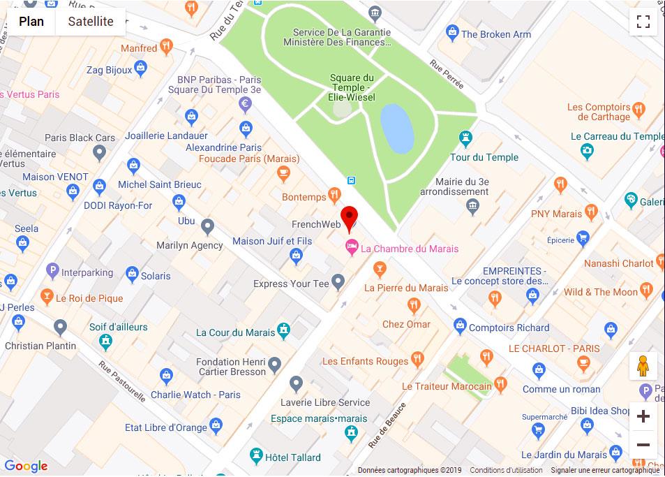 Trouver le Centre Marais Esthétique à Paris